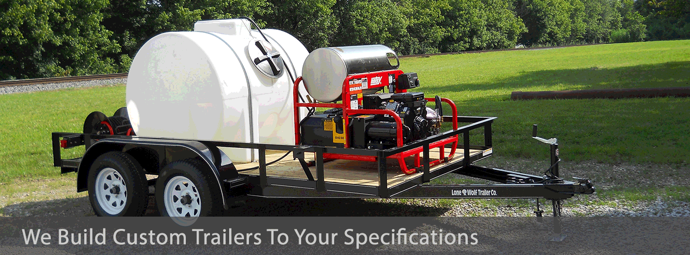 We build custom trailers to your specifications